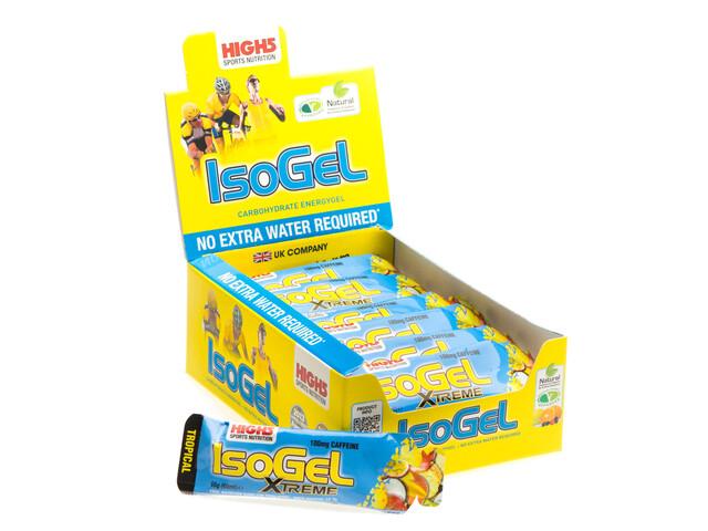 High5 IsoGel X'tream Gel Box Tropical 25 x 60ml